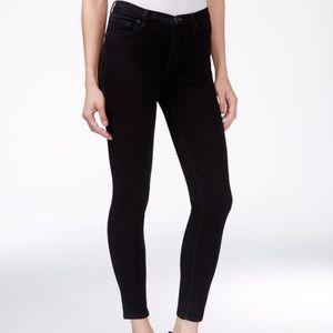 Free people size 28 black skinny jeans